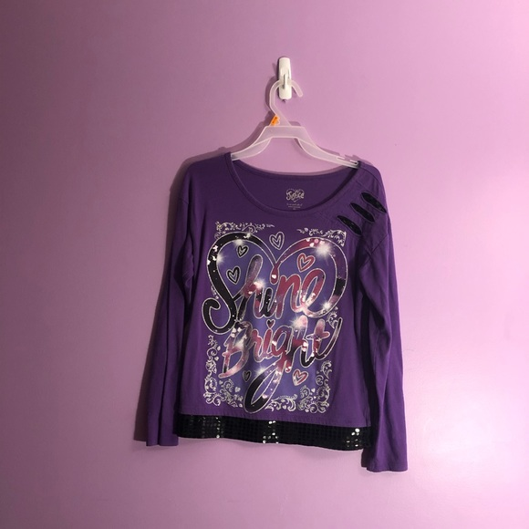 Justice Other - Justice shirt, girls size 12